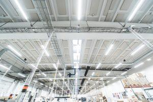 Helvar High Efficiency High flux industrial lighting