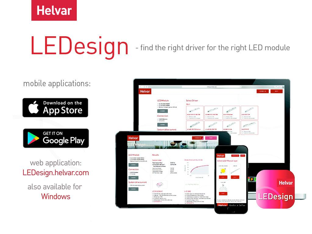 LEDesign LED calculator to find right LED driver for LED modules