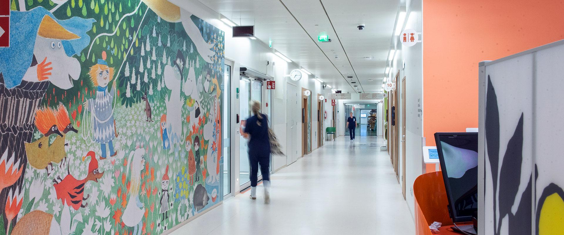 LED lighting for hospitals