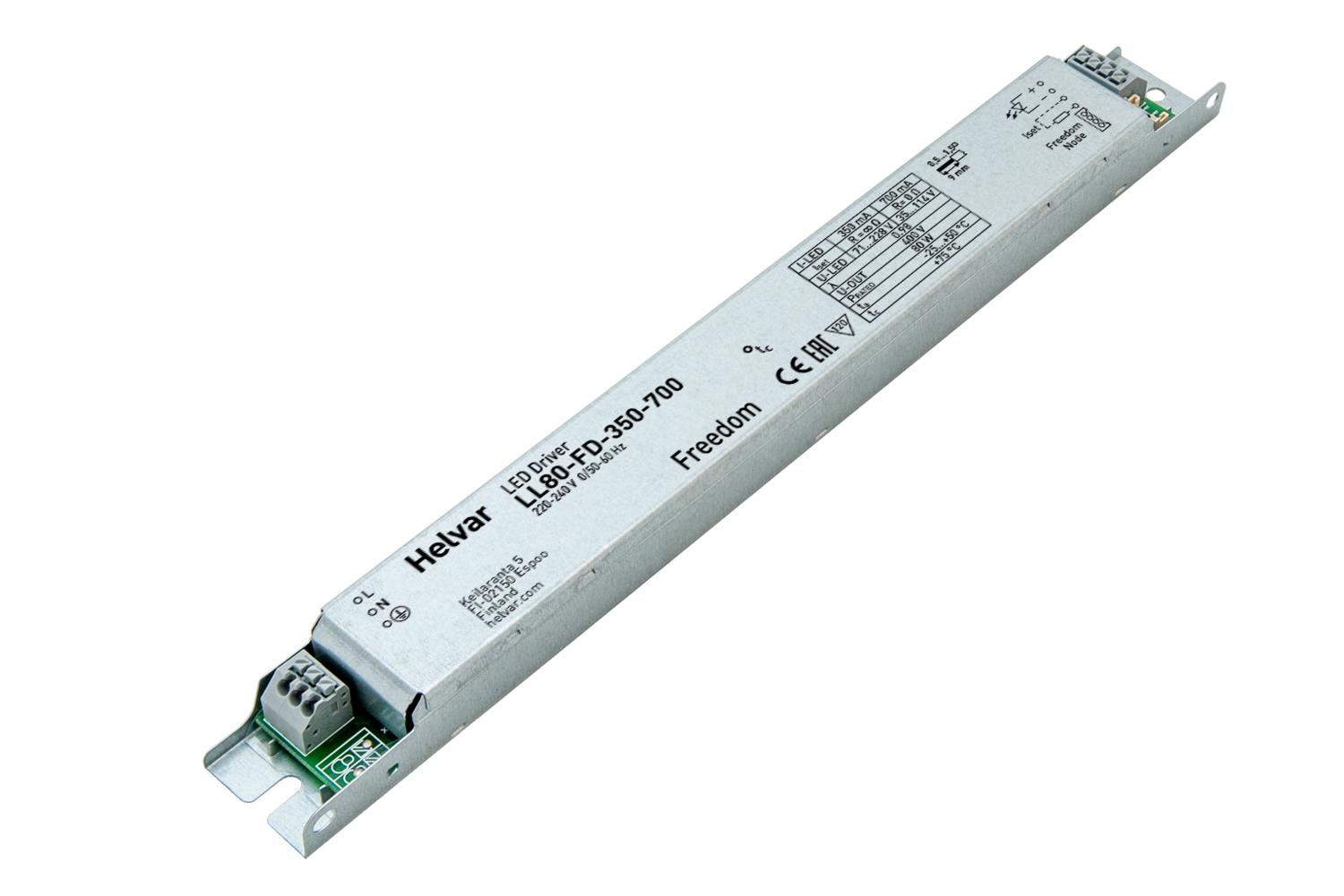 Freedom LED driver for wireless lighting control