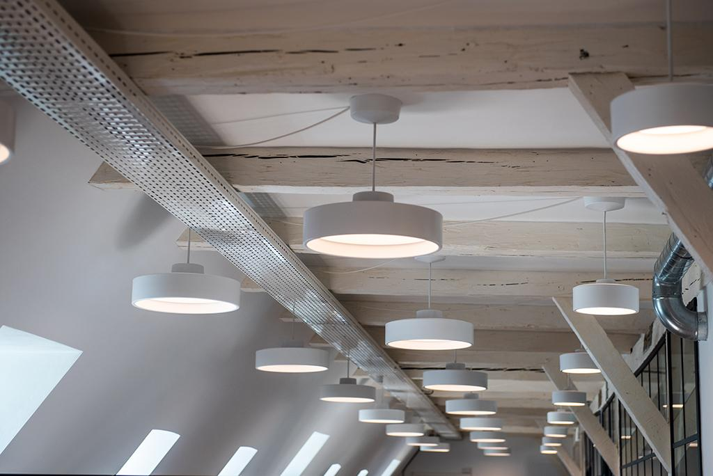 Human Centric Lighting Control with Tunable White LED light fittings