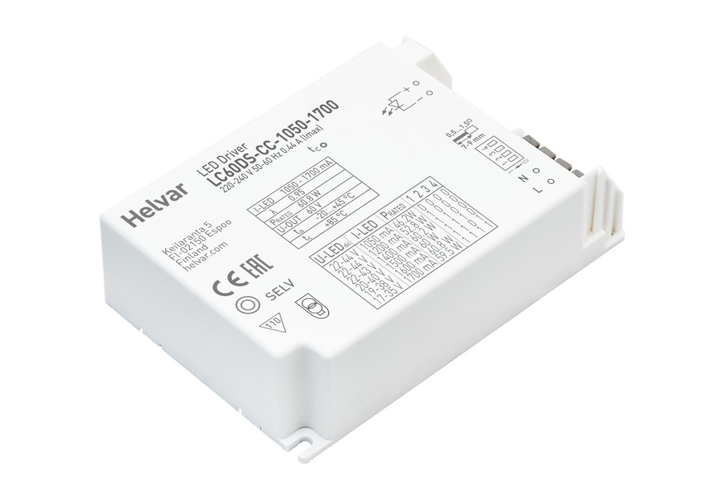 Non-dimmable LED driver