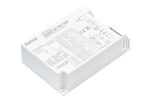 DALI-2 dimmable compact LED driver 60 W for LED light fittings